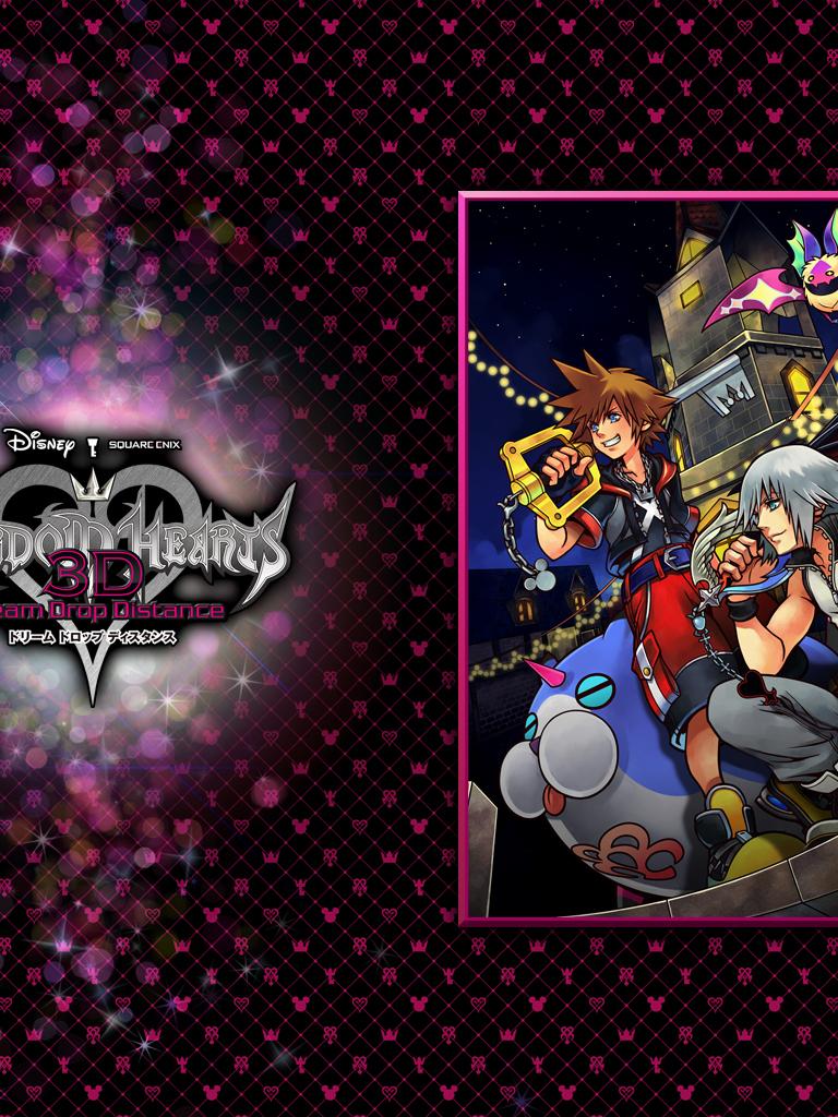Free Download Kingdom Hearts 3d Wallpapers Dream Drop Distance