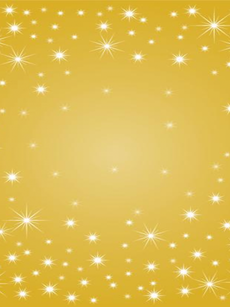 Free Download Powerpoint Template Gold Sparkle Background By