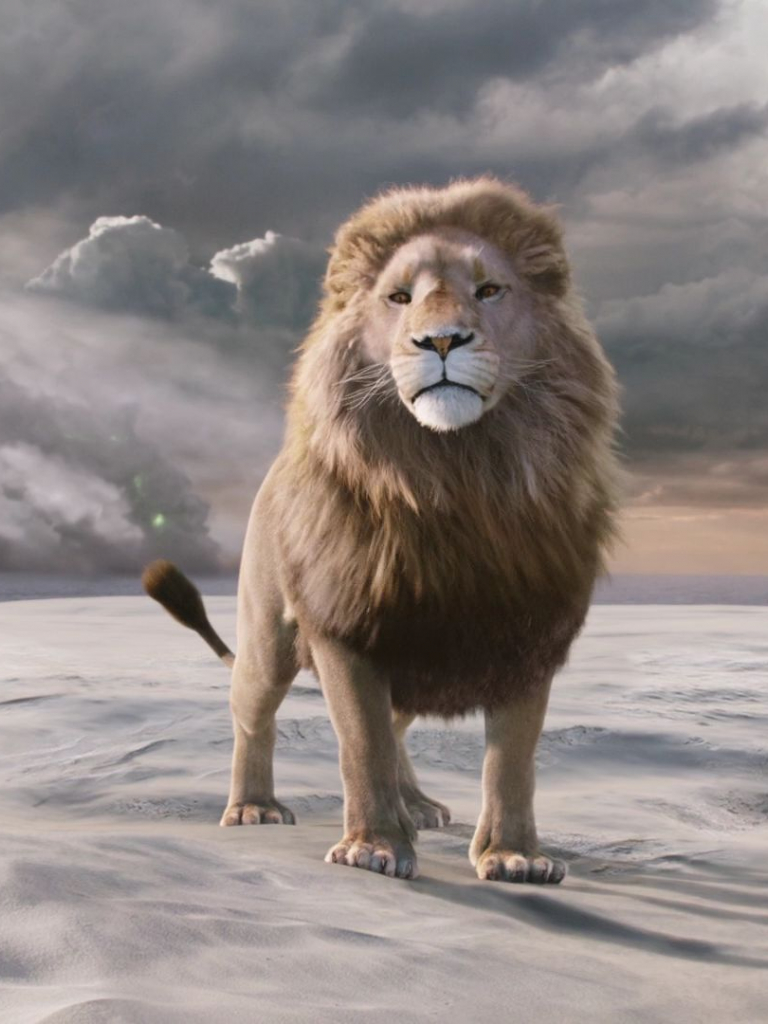 лев аслан из нарнии картинки