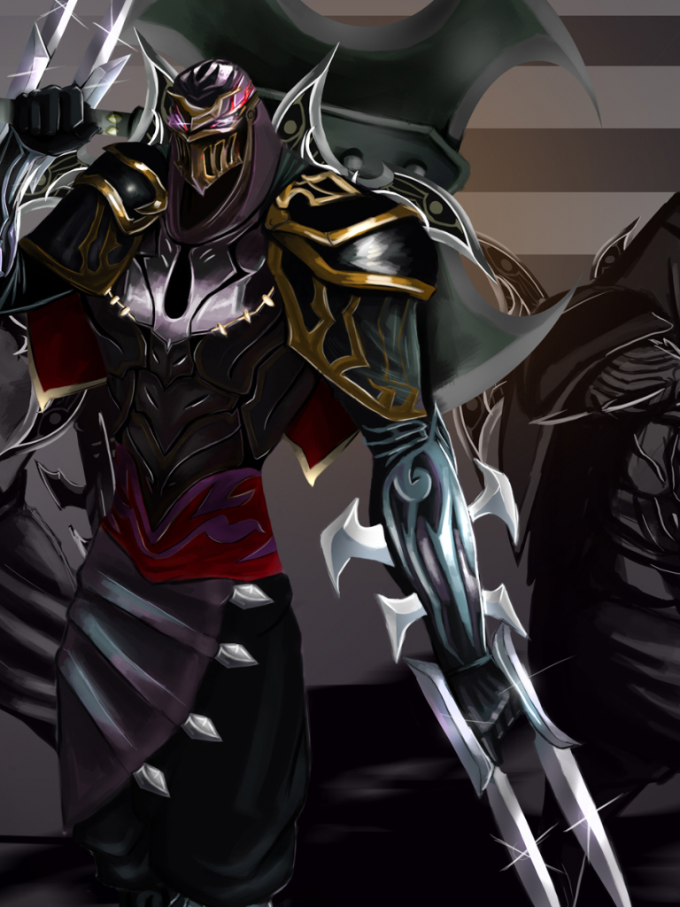 Free download Zed Master of Shadow 4k Wallpaper HD ...