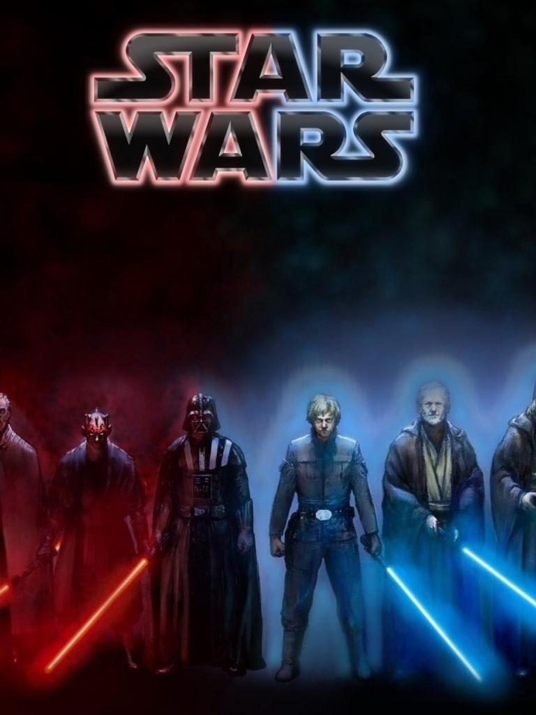 Free Download Star Wars Dark Side Light Side Wallpaper By