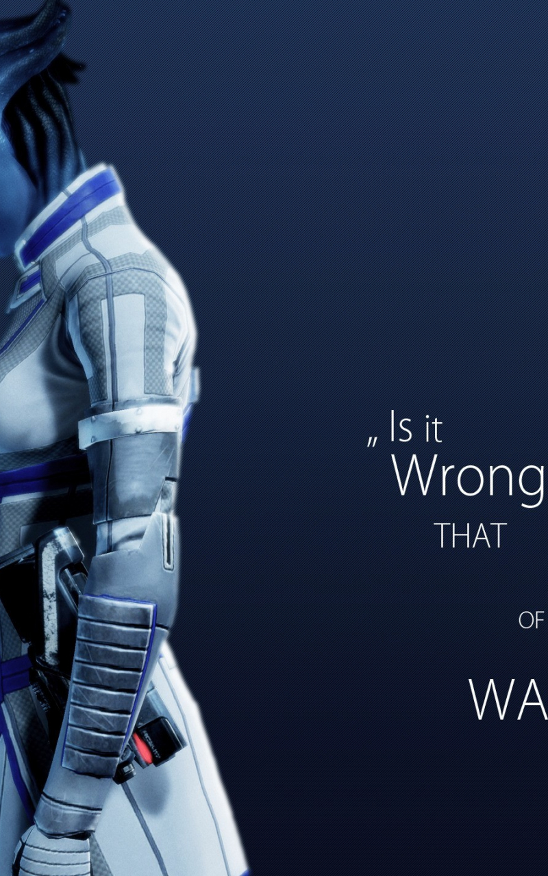 Free Download Liara Tsoni Mass Effect Wallpaper 15582