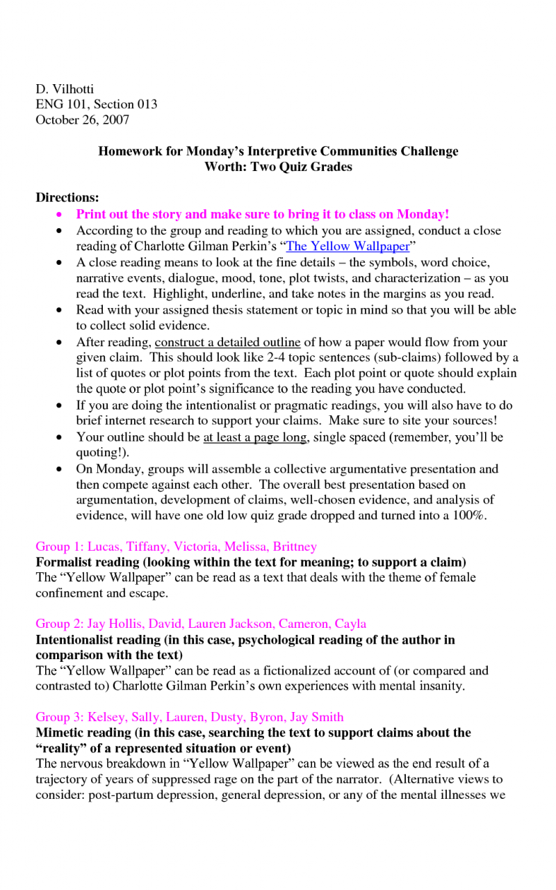 download the yellow wallpaper essay outline x
