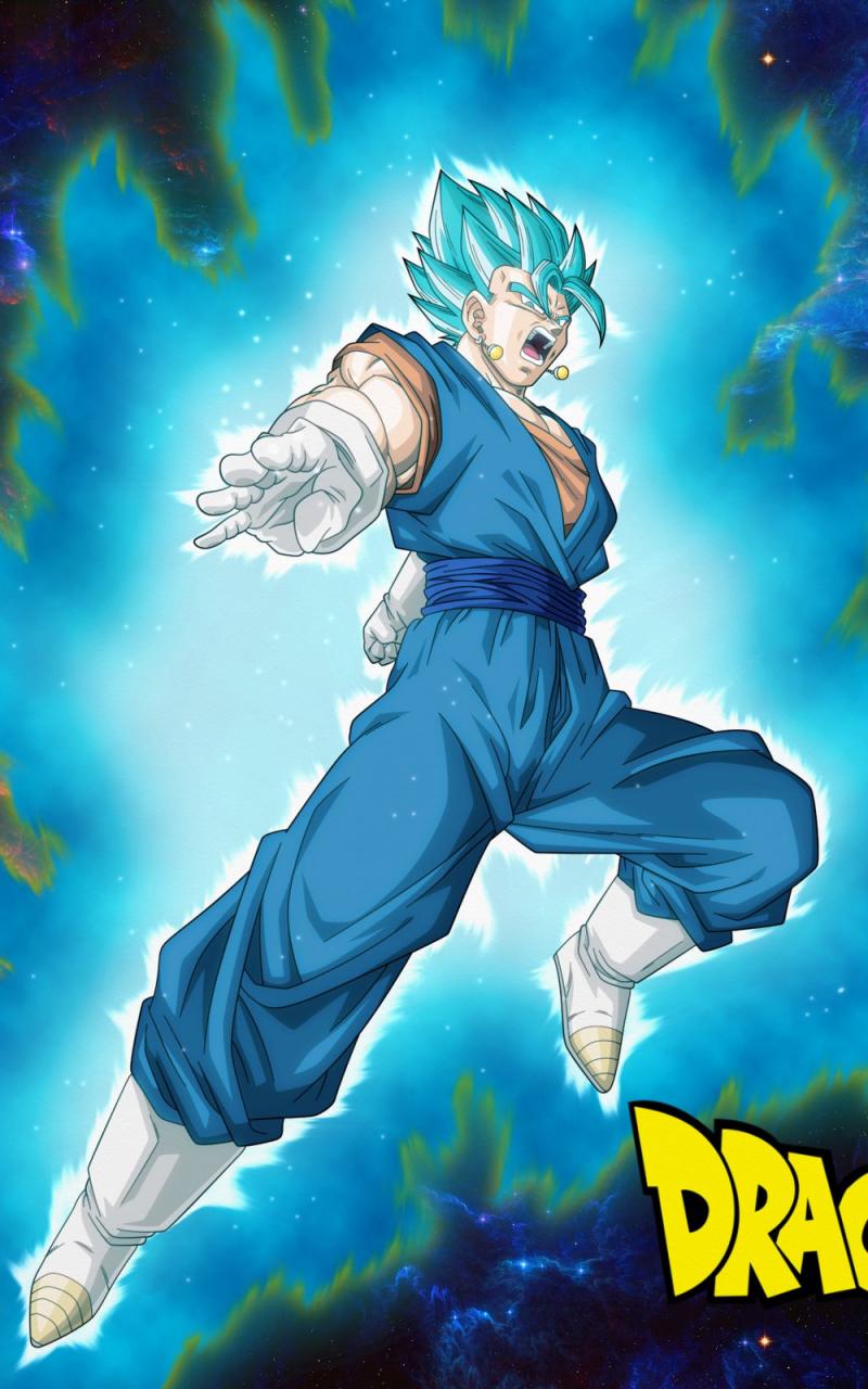 Free Download Dragon Ball Super Wallpaper Vegito Saiyan Blue By