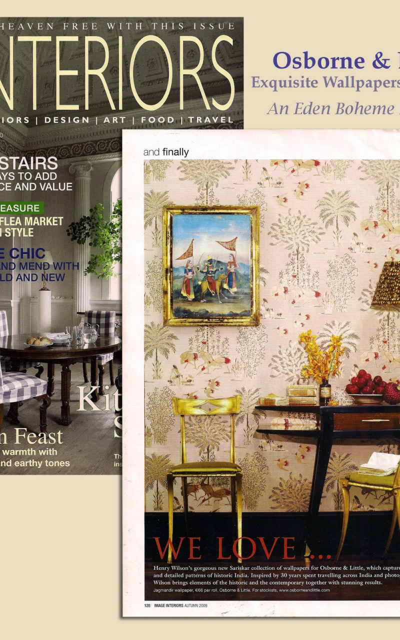 1495x1600px Discontinued Osborne and Little Wallpaper - WallpaperSafari
