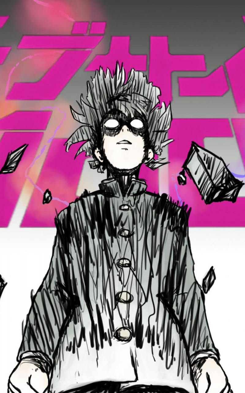 Free Download Mob Psycho 100 Wallpapers Hd For Desktop Backgrounds