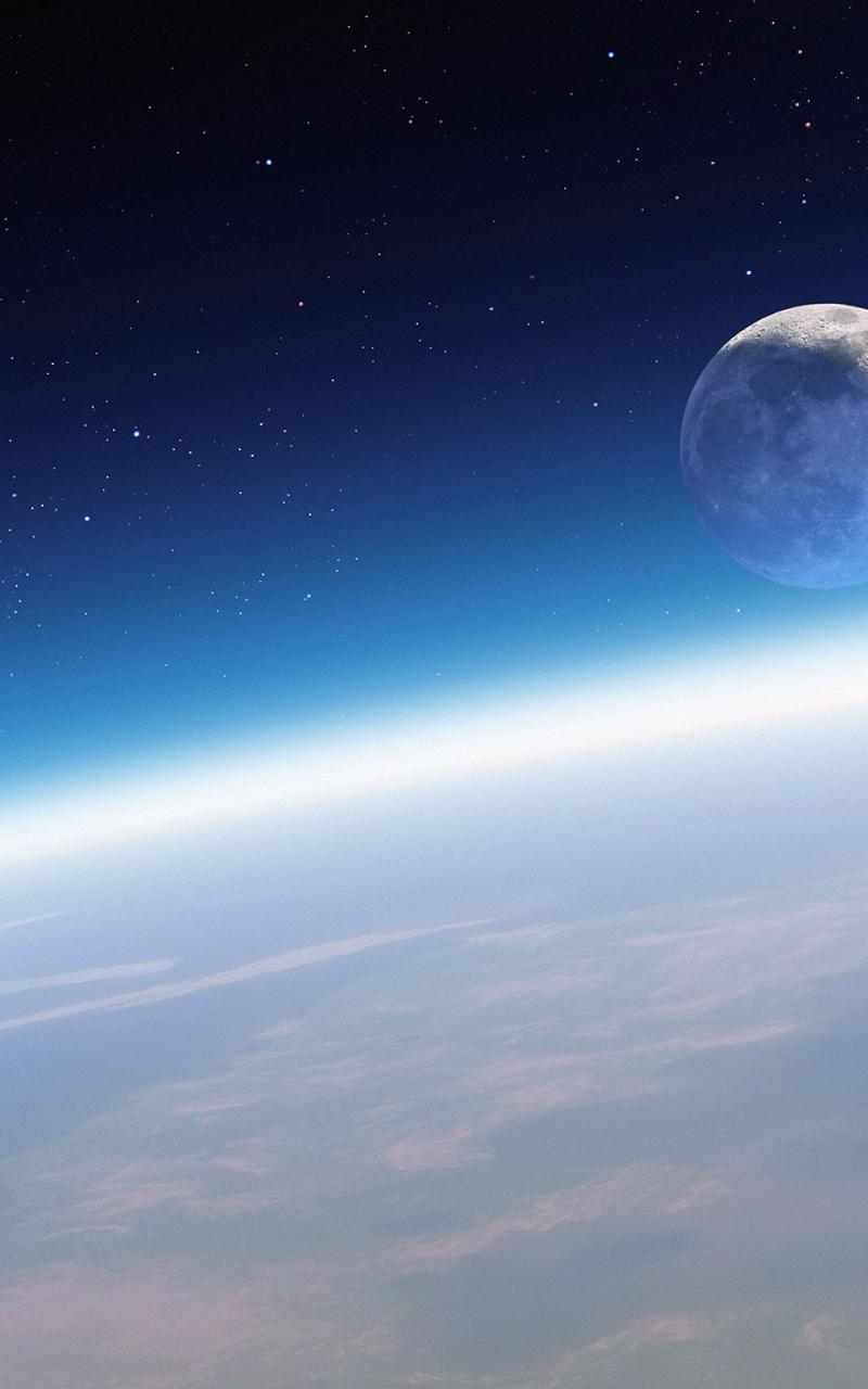 Free Download Moon Orbit Wallpaper Iphone 6 Preview