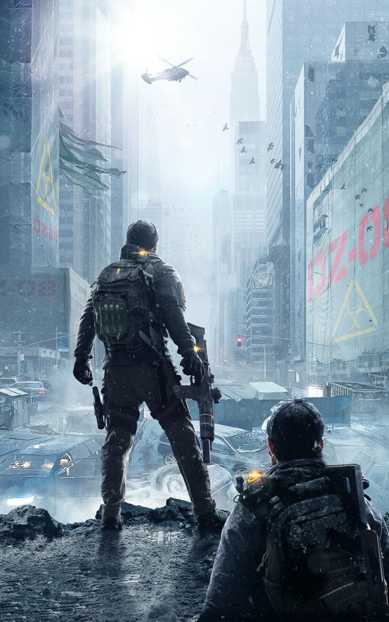 Free Download The Division E3 2015 Dark Zone Wallpaper 4k