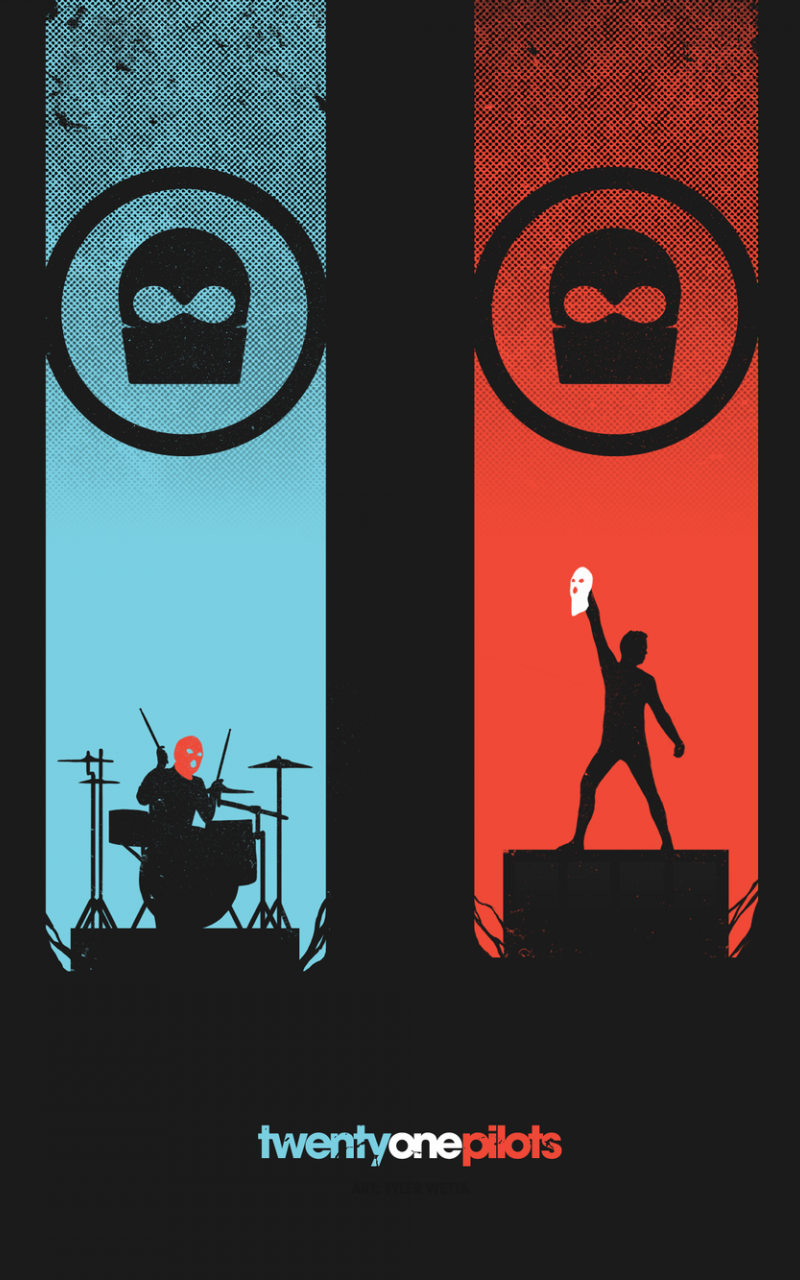 Twenty One Pilots Wallpaper Wall Giftwatches Co
