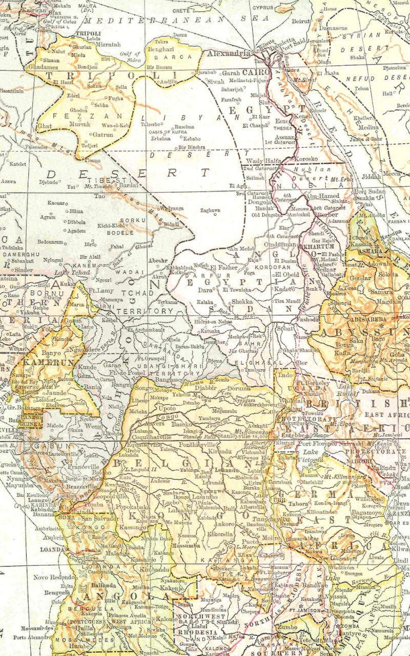 This is a photo of Map of Africa Printable pertaining to easy