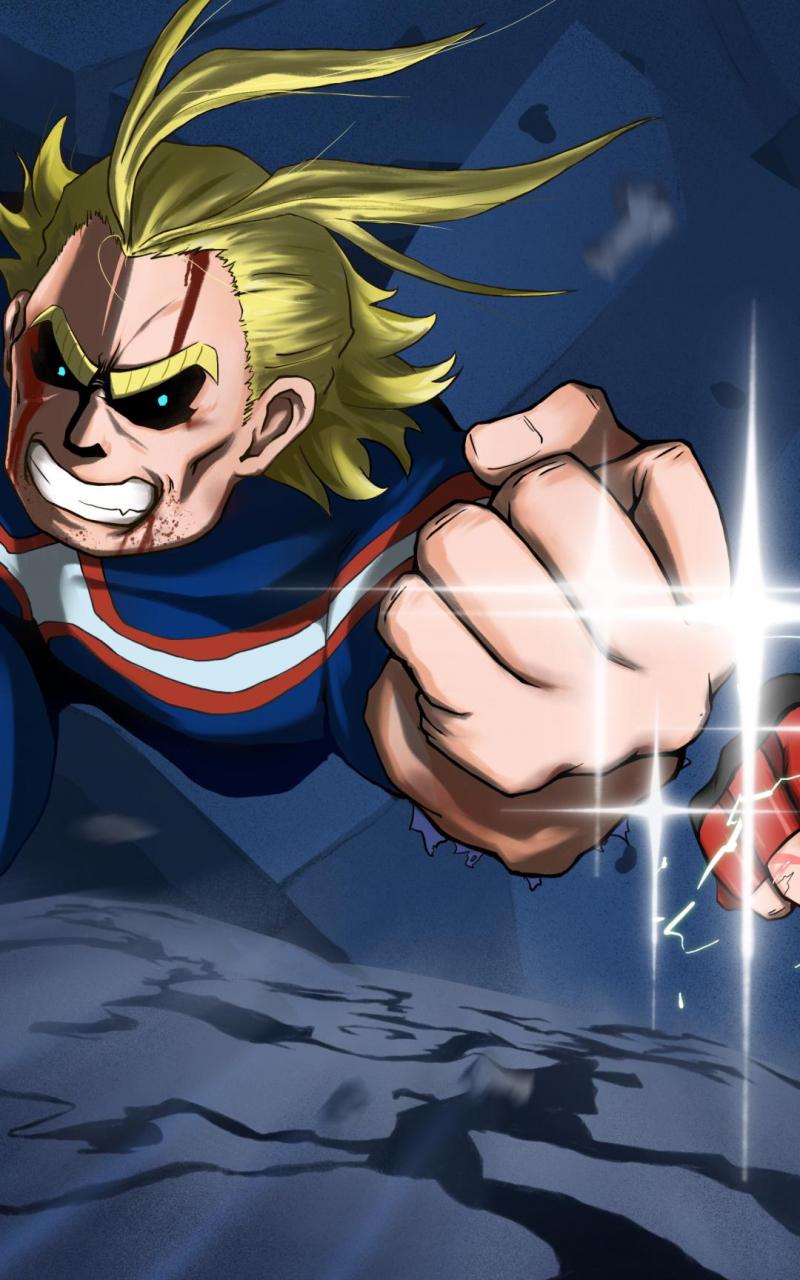 Free Download My Hero Academia Two Heroes All Might Izuku Midoriya