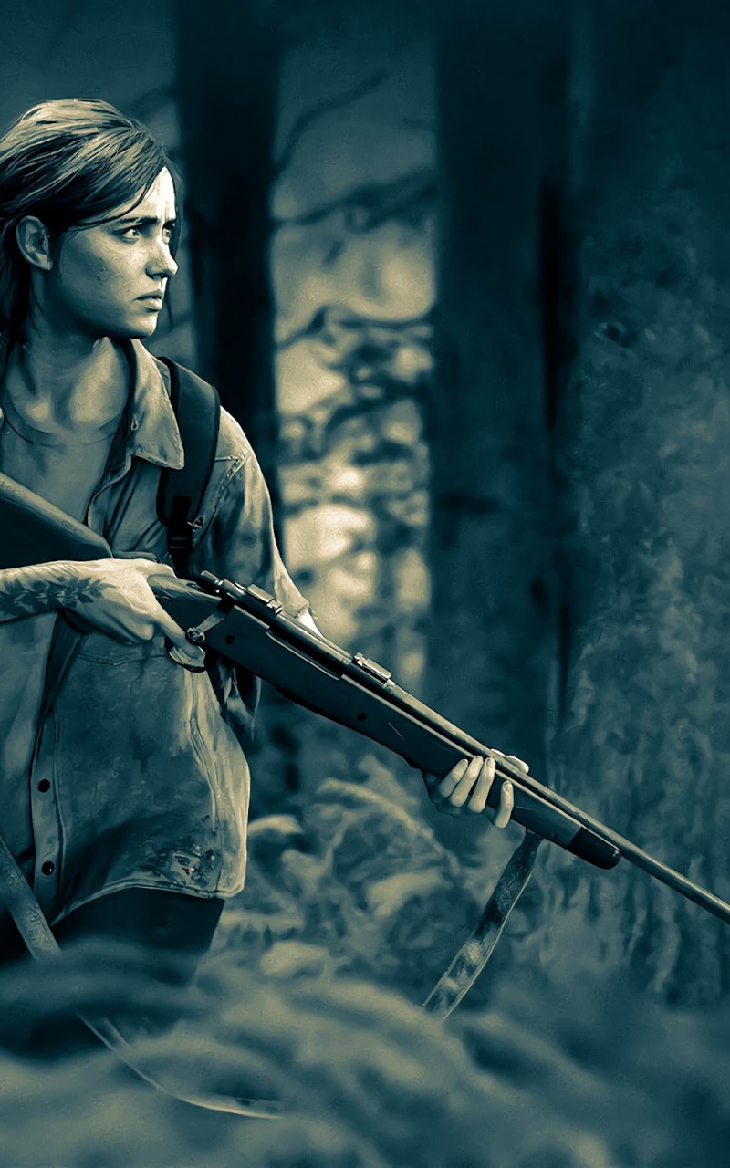 Free Download The Last Of Us Part 2 Ellie Rifle 4k Wallpaper 10