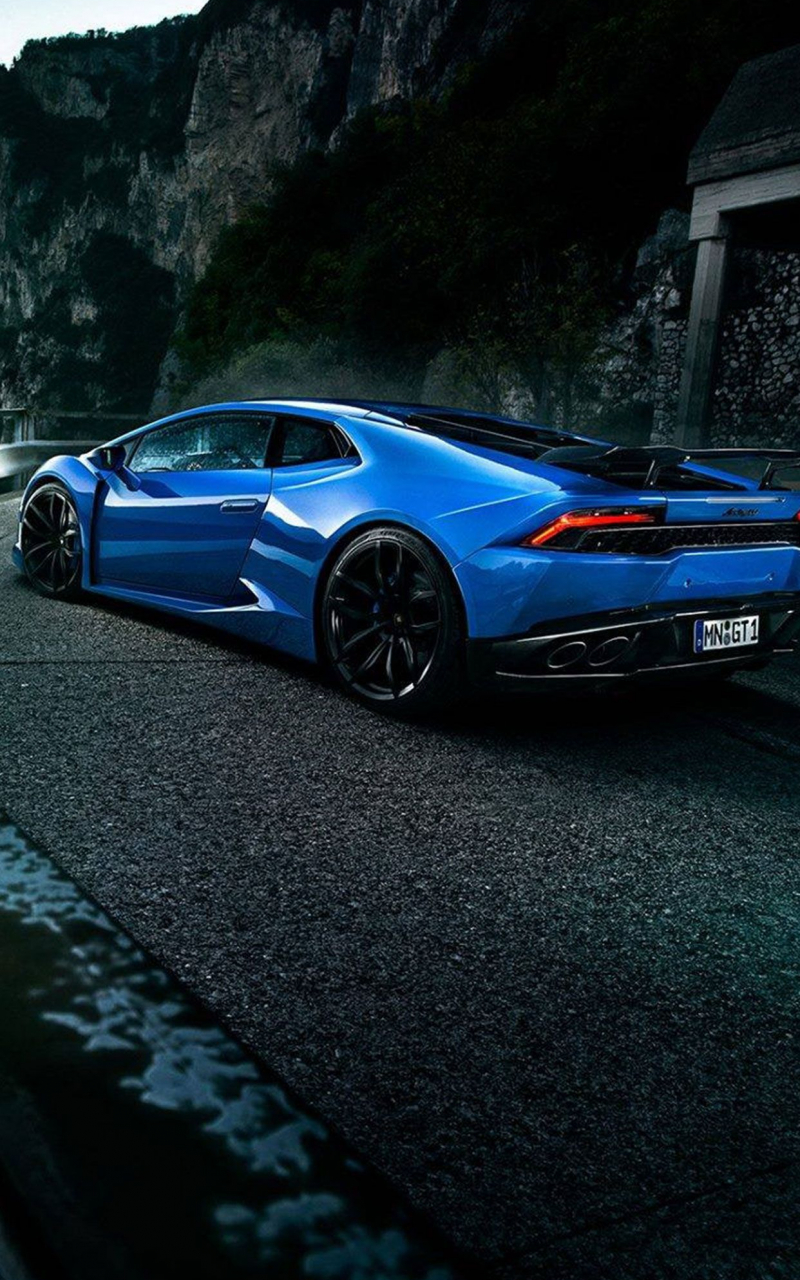 25+ Lambo Wallpapers Blue Pictures
