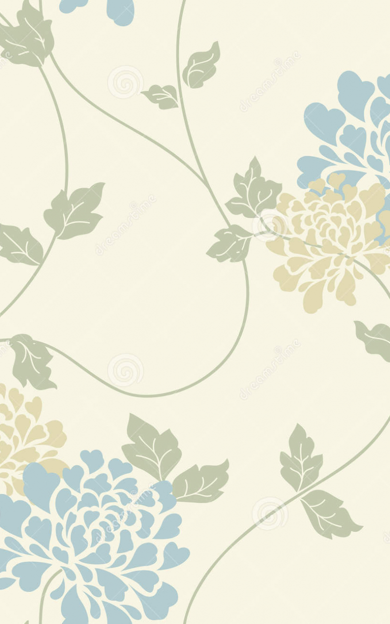 Free Download Light Blue Floral Wallpaper Light Floral Vintage