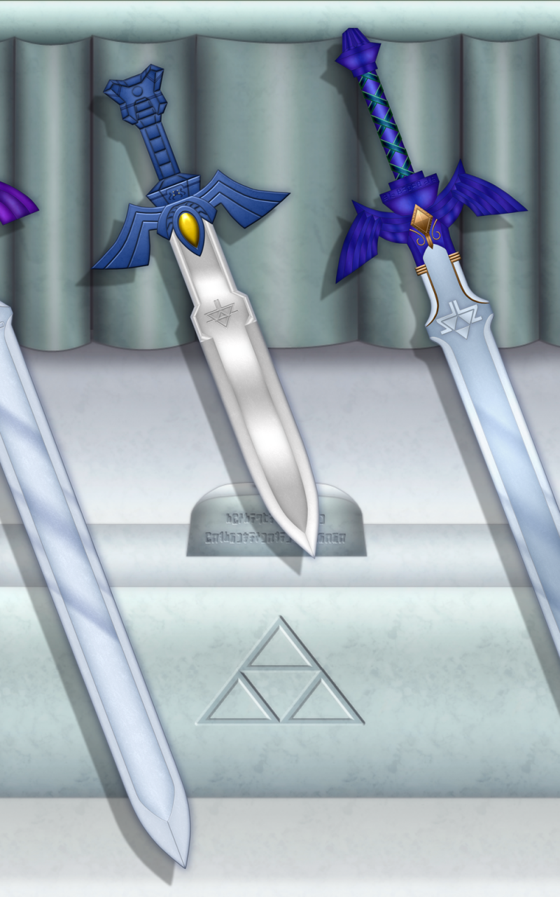 Evolution of the Master Sword Wallpaper XXL by