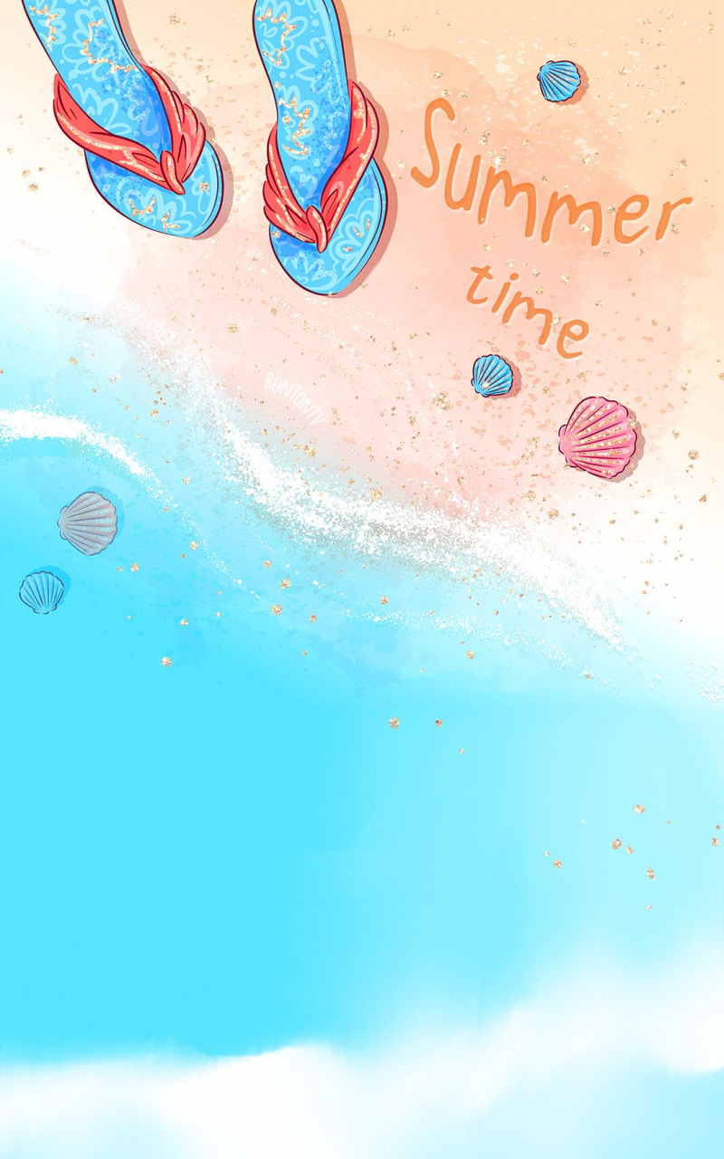 Free Download Phone Wallpapers Hd Cute Glitter Summer Beach By Bonton Tv 1080x1920 For Your Desktop Mobile Tablet Explore 63 Summer Free Wallpaper Free Summer Wallpaper Backgrounds Free Summer
