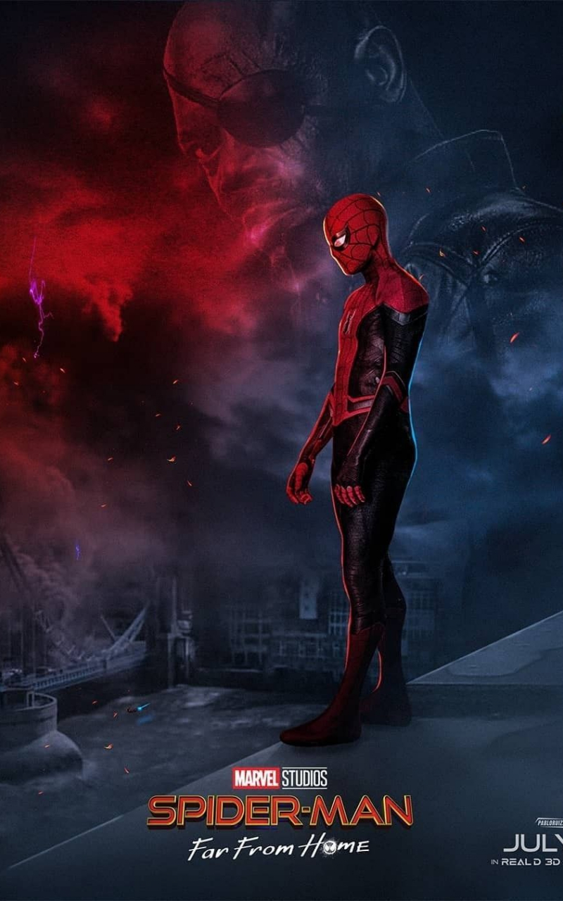 Free Download Spider Man Far From Home Wallpaper Wallpapers 4k