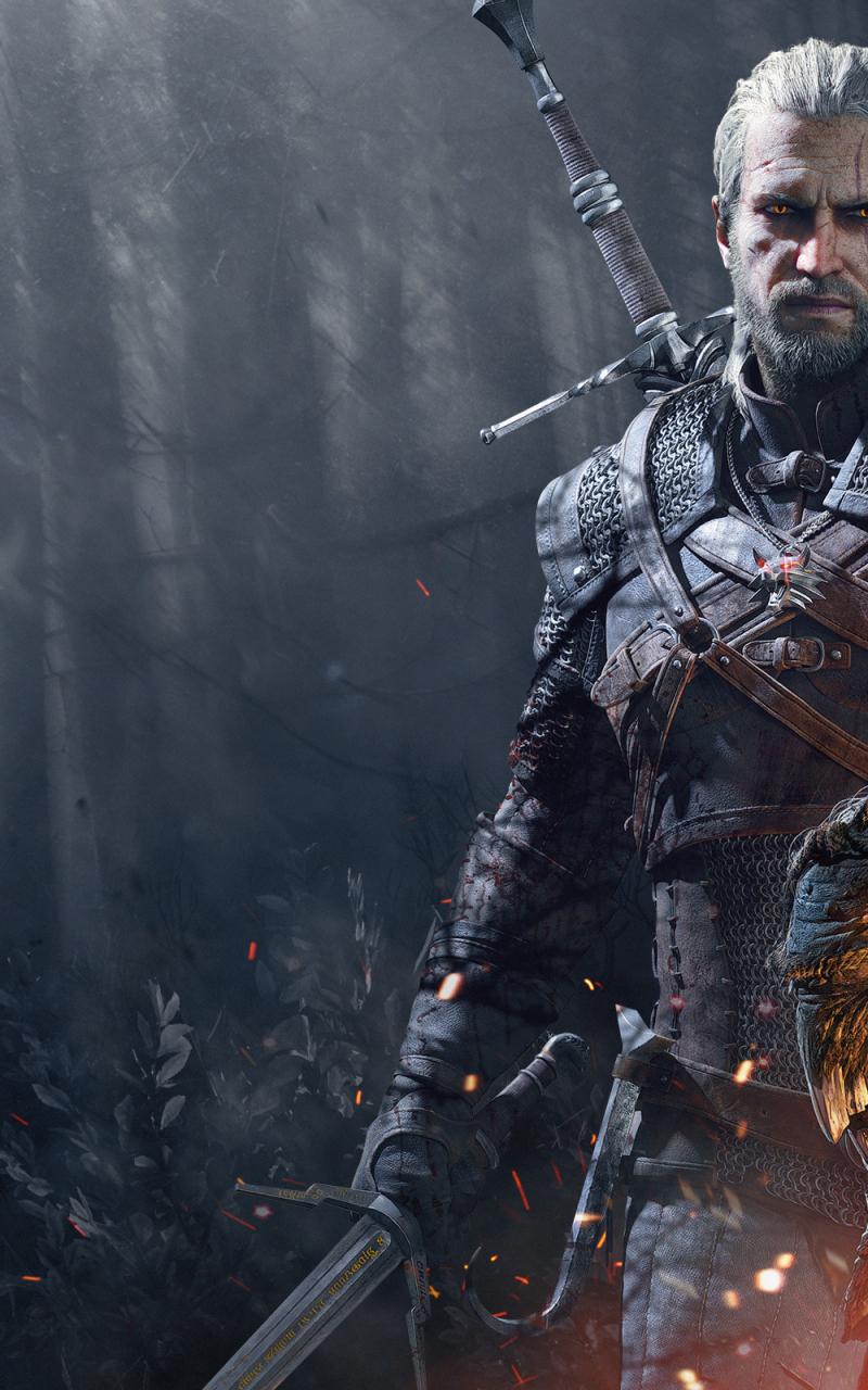 Free Download The Witcher 3 Wild Hunt Geralt Trophies Wallpapers
