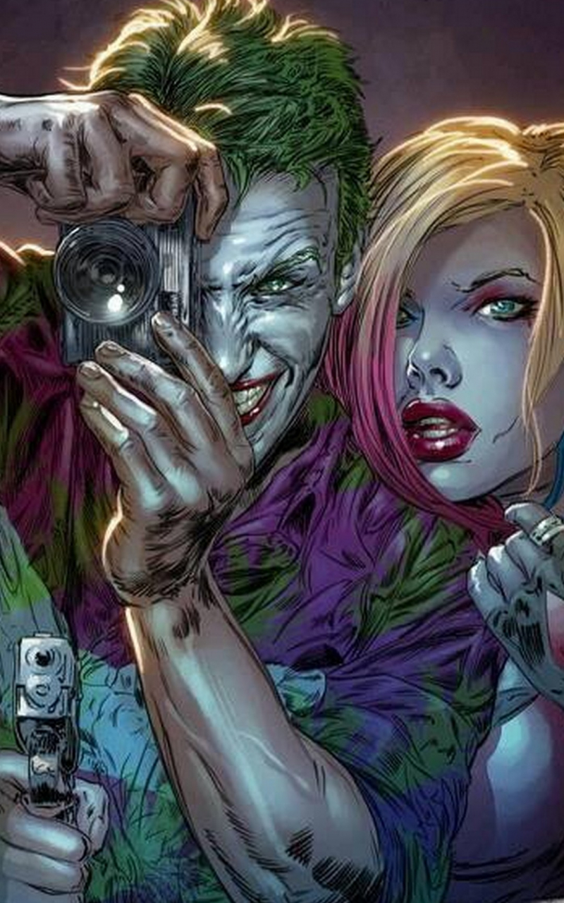 Free Joker And Harley Wallpaper IPhone 2019 3D