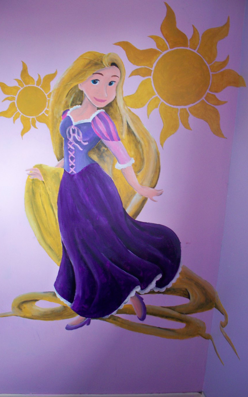 Free Download Rapunzel Wall Mural By Billywallwork525 1024x1365 For Your Desktop Mobile Tablet Explore 47 Tangled Wallpaper Mural Tangled Wallpaper Mural Tangled Wallpaper Tangled Wallpapers
