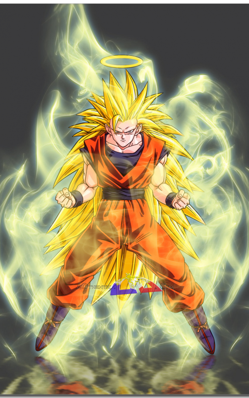 Free Download Son Goku Super Saiyan 3 By Aothentic 900x1338 For