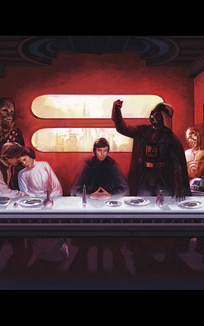 Free Download Wallpapers Download 2560x1600 Star Wars C3po Darth Vader Last Supper 2560x1600 For Your Desktop Mobile Tablet Explore 48 Star Wars Last Supper Wallpaper Star Wars Last Supper